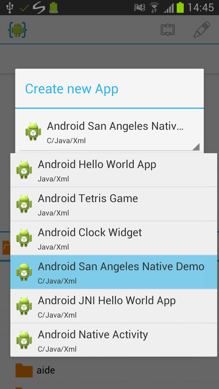 Create Android App Using Any Android Device
