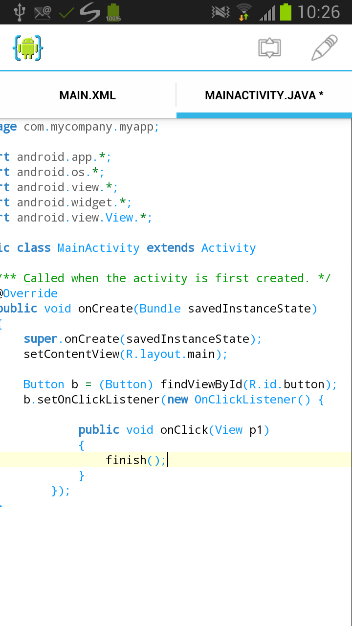 Android UI Tutorial | AIDE - Android IDE