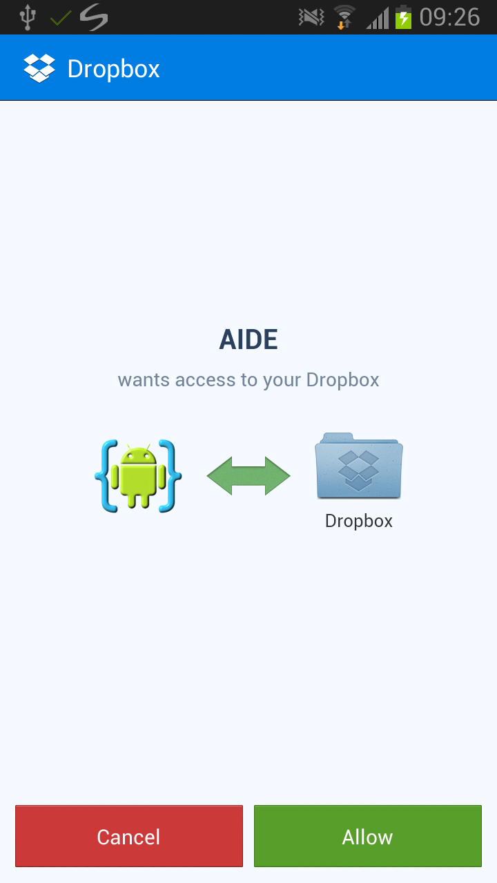 Dropbox Integration Tutorial | AIDE - Android IDE
