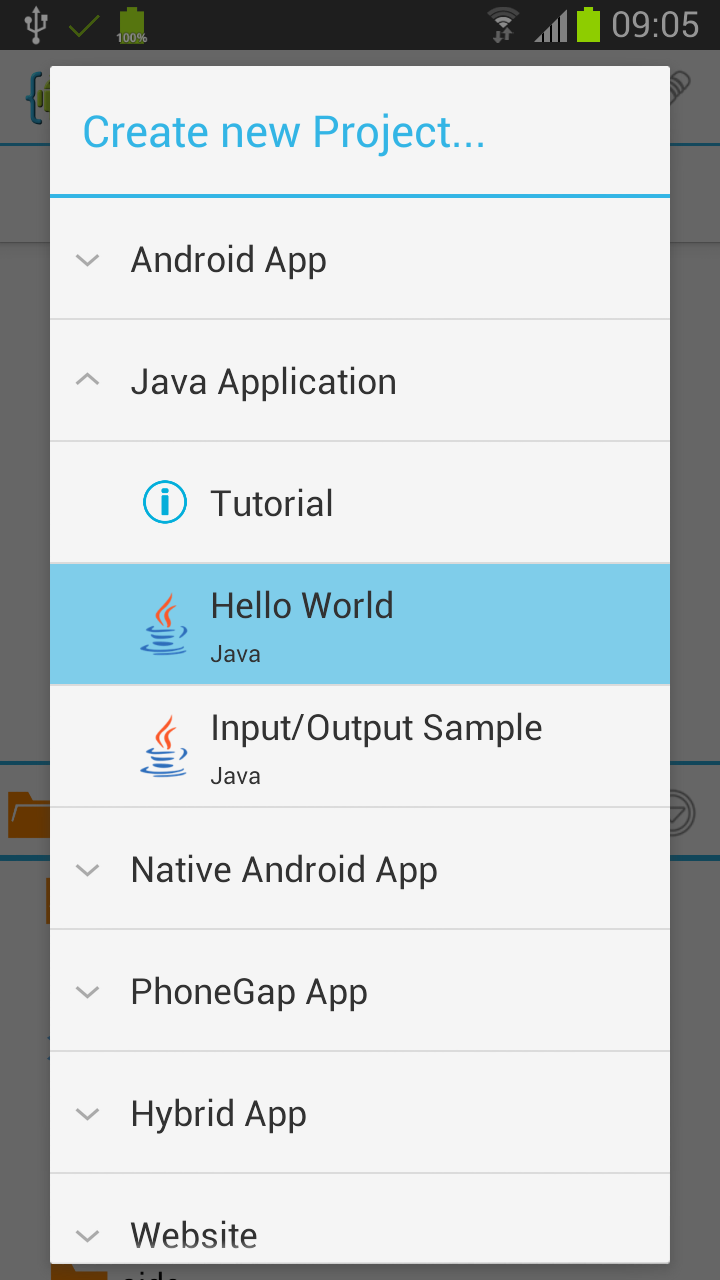 Pure Java application tutorial | AIDE - Android IDE
